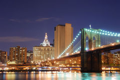 Brooklyn Bridge, New York City Manhattan Royalty Free Stock Photography