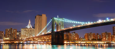 Brooklyn Bridge, New York City Manhattan Royalty Free Stock Photos