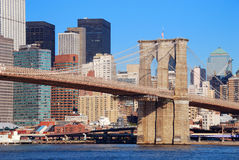 Brooklyn Bridge New York City Manhattan Stock Images