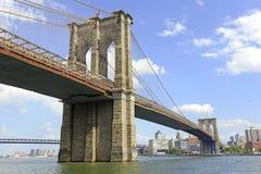 Brooklyn Bridge, New York City Royalty Free Stock Images
