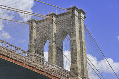Brooklyn Bridge, New York City Stock Photos