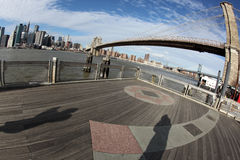 Brooklyn Bridge in New York Stock Photo