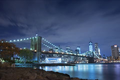 Brooklyn Bridge New York City Royalty Free Stock Photo