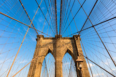 The Brooklyn Bridge Stock Photo