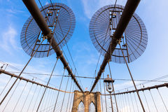 The Brooklyn Bridge Stock Image