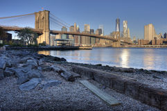 Brooklyn Bridge New York City Stock Photography