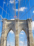 Brooklyn Bridge in New York City Royalty Free Stock Photo