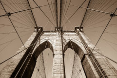 Brooklyn bridge, New York City Royalty Free Stock Image