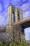 Brooklyn Bridge,  New York City Stock Images