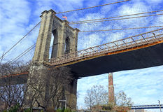 Brooklyn Bridge,  New York City Stock Photography