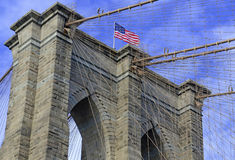 Brooklyn Bridge,  New York City Stock Photos