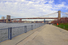 Brooklyn Bridge,  New York City Royalty Free Stock Photo