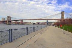 Brooklyn Bridge,  New York City Royalty Free Stock Photo