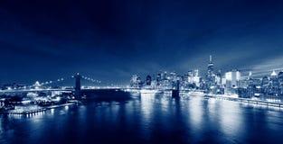 Brooklyn bridge in New York City, USA royalty free stock photos