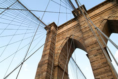 Brooklyn Bridge, New York Stock Images