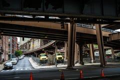 Brooklyn Bridge New York royalty free stock photography