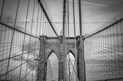 Brooklyn Bridge Royalty Free Stock Image