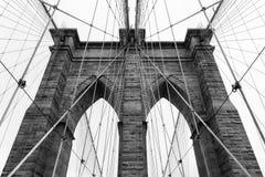 Brooklyn bridge in new york - USA Stock Image