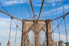 Brooklyn bridge in new york - USA Stock Images