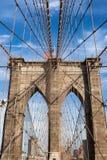 Brooklyn bridge in new york - USA Royalty Free Stock Image