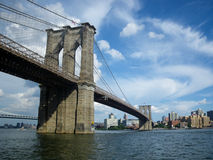 The Brooklyn Bridge of New-York, USA Royalty Free Stock Images