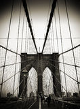 Brooklyn bridge. In new york usa Royalty Free Stock Image