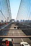 Brooklyn Bridge, New York Stock Image