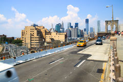 Brooklyn Bridge, New York Stock Photo