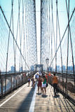 Brooklyn Bridge, New York Royalty Free Stock Photography