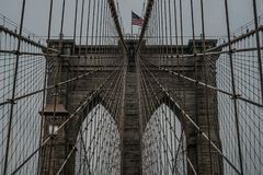 Brooklyn Bridge New York,USA royalty free stock photography
