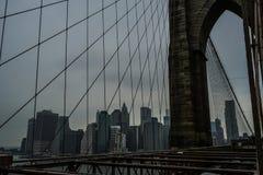 Brooklyn Bridge New York,USA royalty free stock image