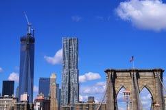 Brooklyn Bridge New York Stock Image