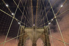Brooklyn bridge NYC Stock Photography