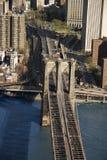 Brooklyn Bridge, NYC Royalty Free Stock Image