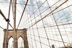 Brooklyn Bridge. Stock Photo