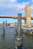 Brooklyn Bridge, NYC Royalty Free Stock Photos