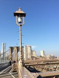 Brooklyn Bridge in NYC, USA. Royalty Free Stock Images