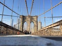 Brooklyn Bridge in NYC, USA. Stock Image