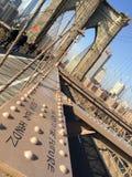 Brooklyn Bridge in NYC, USA. Royalty Free Stock Image