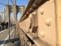 Brooklyn Bridge in NYC, USA. Stock Photography