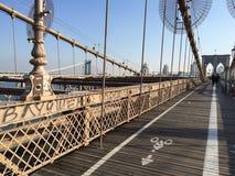 Brooklyn Bridge in NYC, USA. Stock Photos