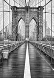 Brooklyn Bridge Of New York City Stock Photos
