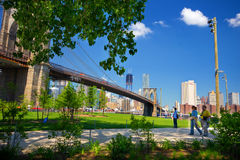 Brooklyn Bridge Park Royalty Free Stock Photography