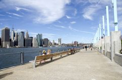 Brooklyn Bridge Park Stock Image