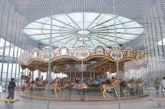 Brooklyn Bridge Park Carousel Royalty Free Stock Image