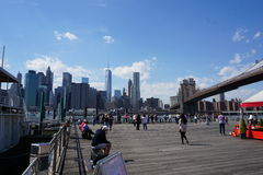 Brooklyn Bridge Park 38 Stock Images