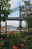 Brooklyn Bridge Park New York USA Stock Photos