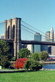 Brooklyn Bridge Park New York USA. Brooklyn Bridge Park is popular with Dumbo area residents of Brooklyn, NYC stock photography
