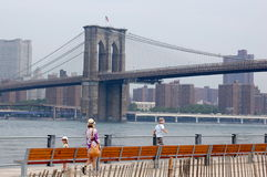 Brooklyn Bridge Park, New York City Royalty Free Stock Photo