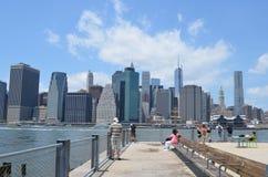 Brooklyn Bridge Park, New York City Stock Image